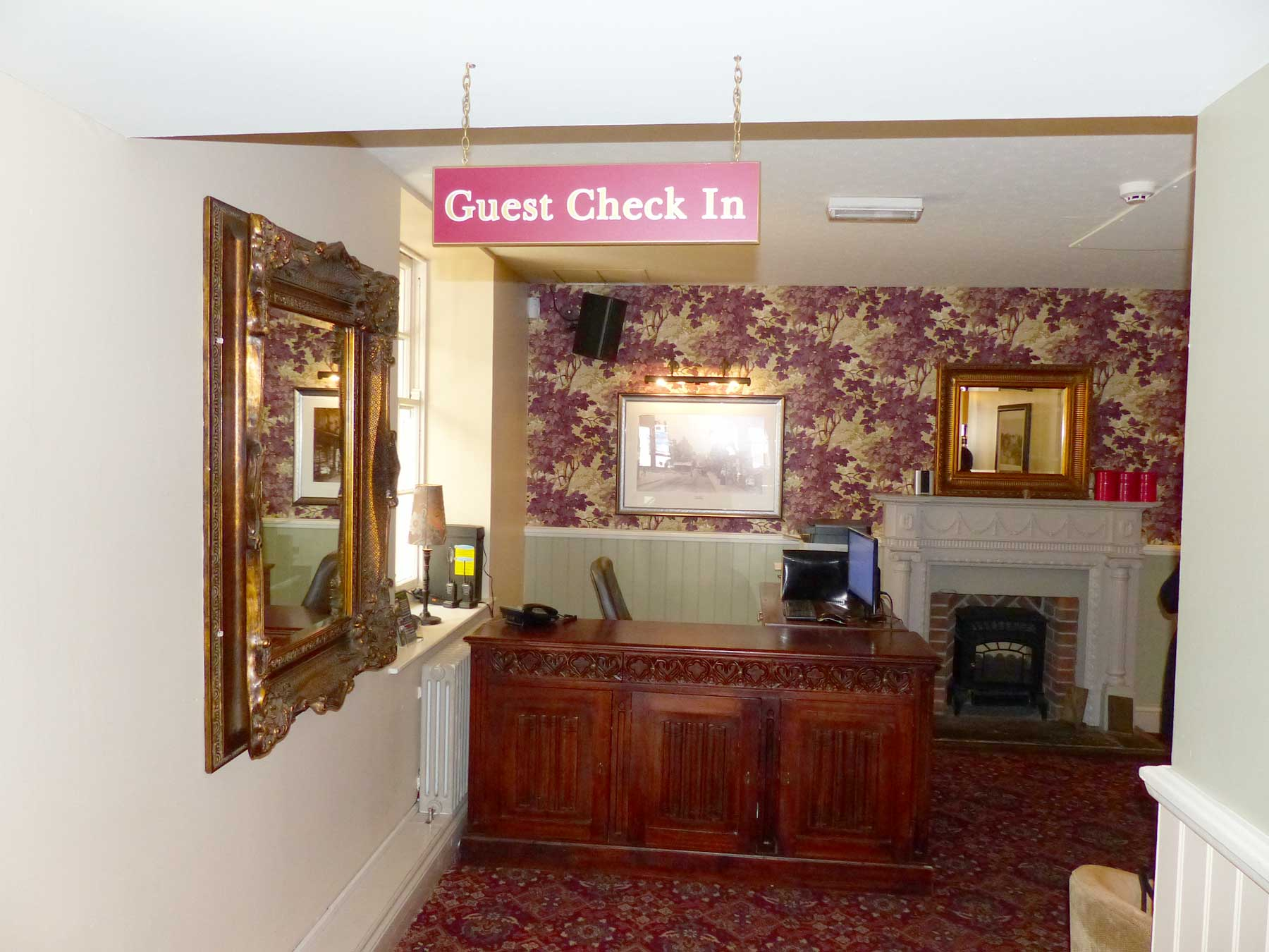 George Hotel Reception