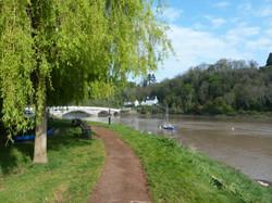 Chepstow Riverbank
