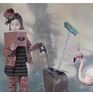 Laïna Hadengue - Le balai de la femme en rose