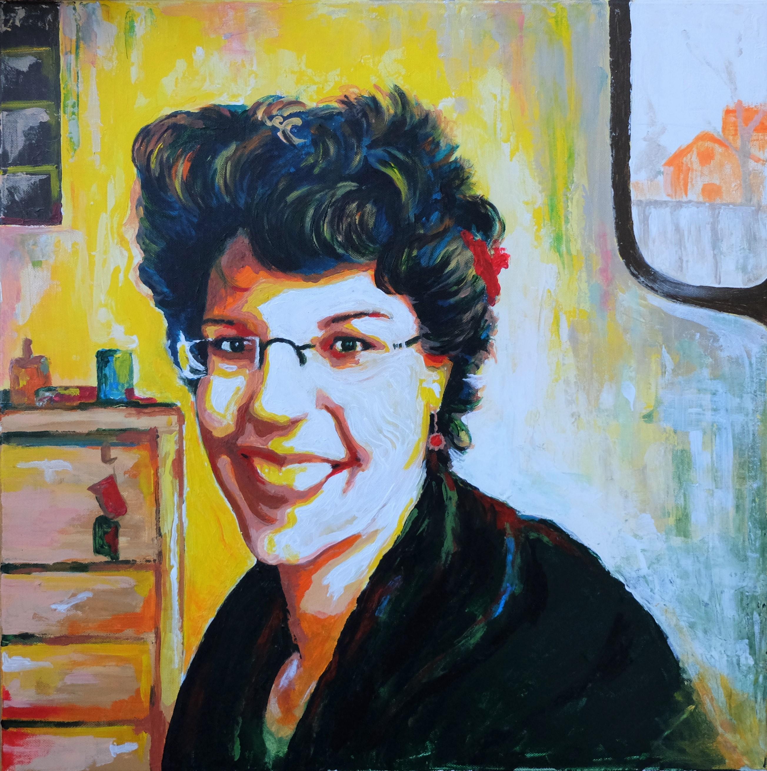 Portrait von Anna