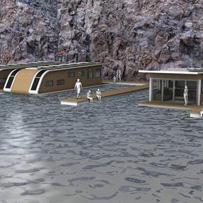 Úszó házak