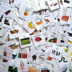 Online szókártyák a nyelvtanulásban