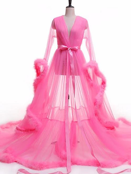 Goddess Robe (Hot Pink)