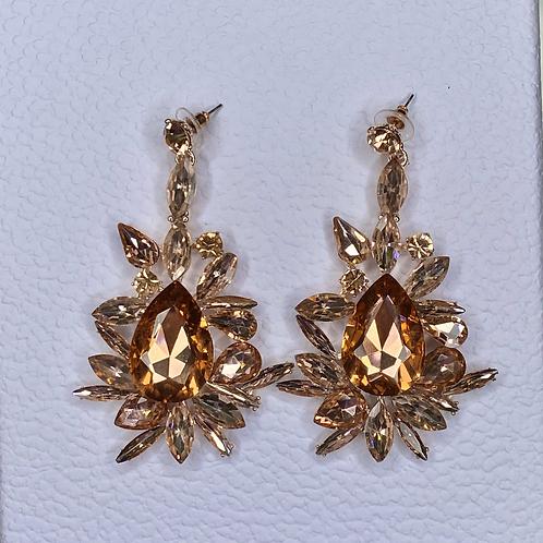 Casablanca Rosegold Earrings