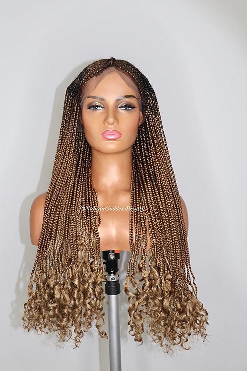 Honey Curls Fulani Braided Wig