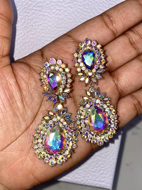 Gatsby Glam Iridescent Earrings