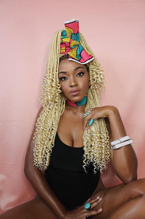 African-barbie African Print