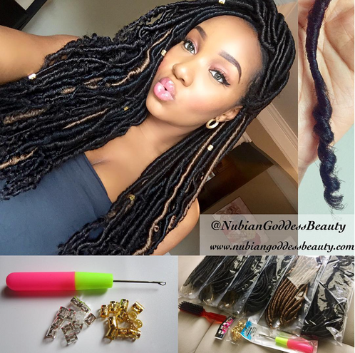Crochet Goddess Faux Locs : Nubian Goddess CROCHET faux Locs (Bundle Deals) shop