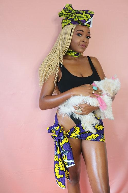Shakara-baby African Print