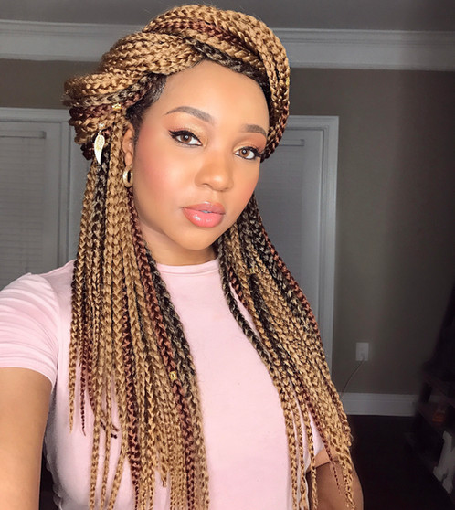 Handmade Crochet Box Braids Best Selling Crochet Goddess