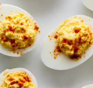 Lower Calorie Deviled Eggs