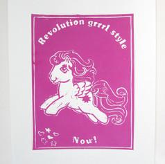 Ponies Against Patriarchy - Revolution grrrl style now!
