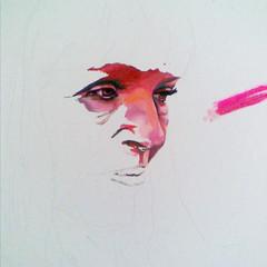 'Red portrait' 2011
