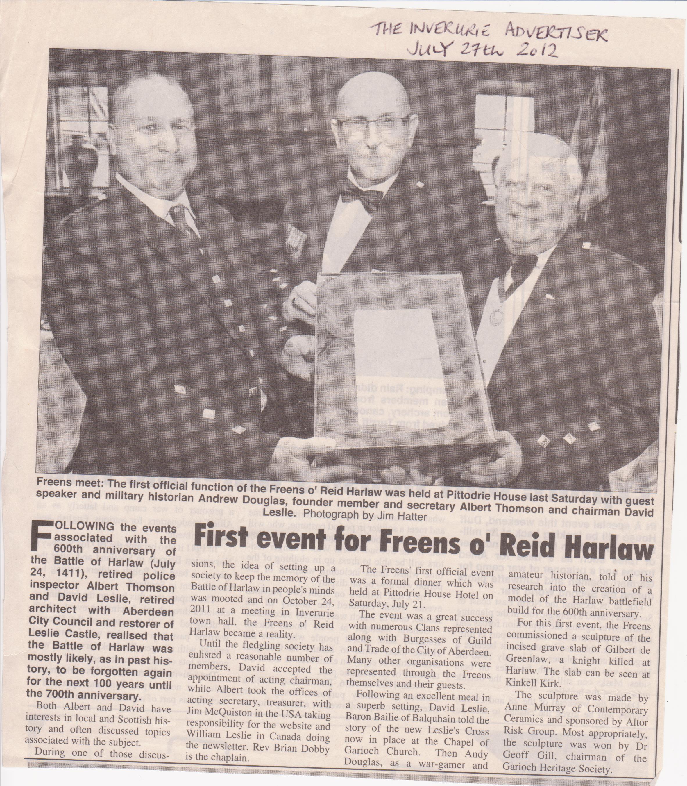 Freens o Reid Harlaw Commission