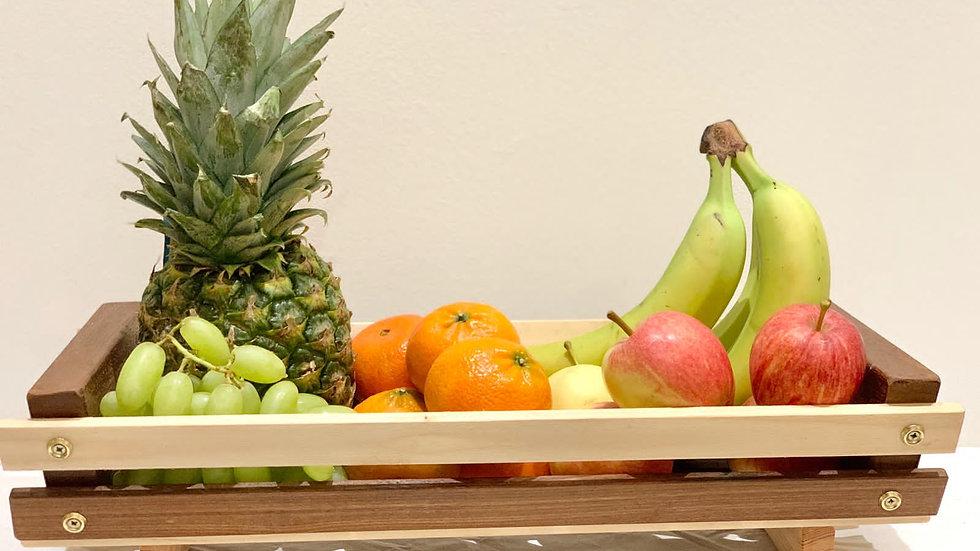 Ex-Large Wood Fruit Basket