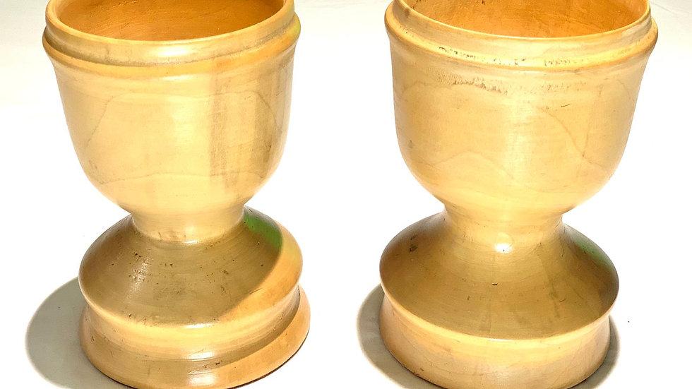 Wooden Turned Goblets