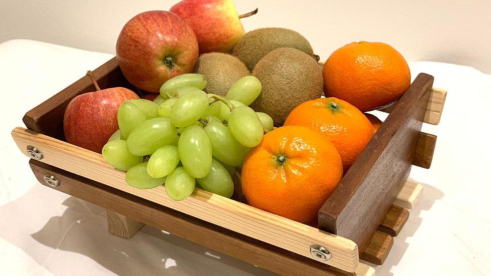 Medium Timber Fruit Basket