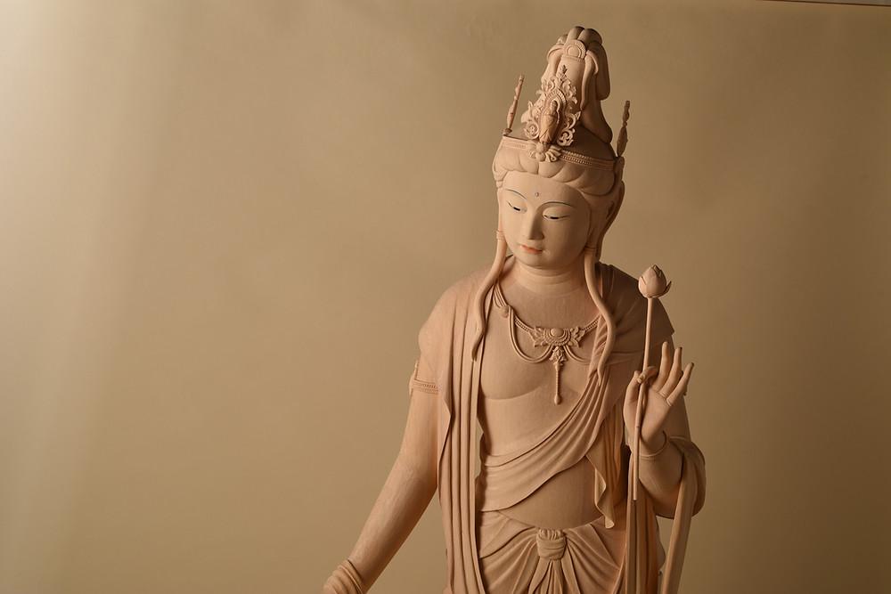 善寶寺様蔵 聖観音菩薩立像