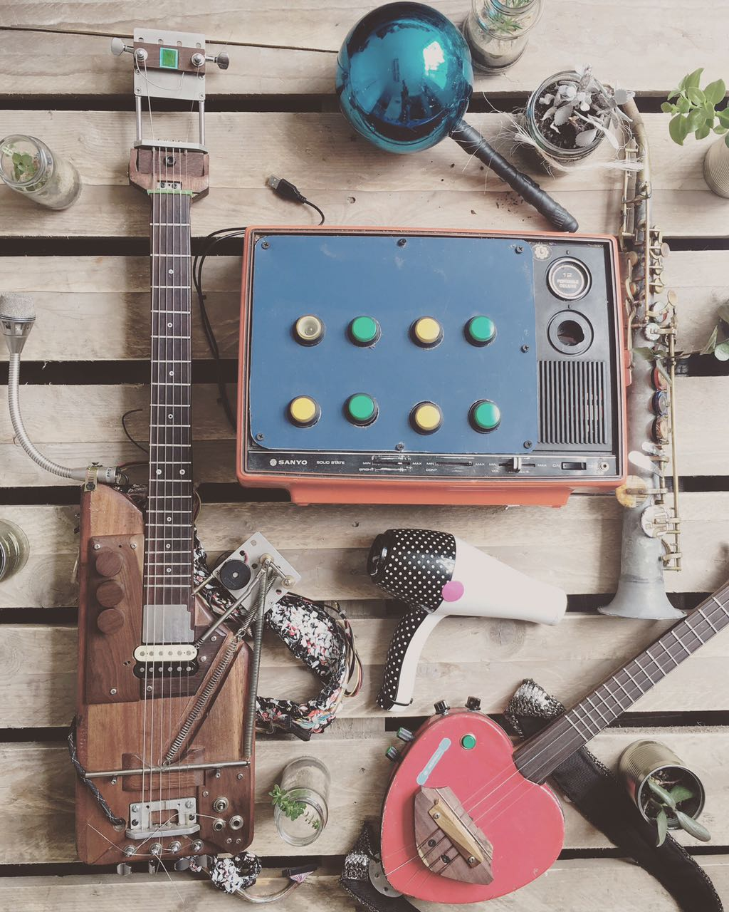 Los instrumentos de Latin Latas