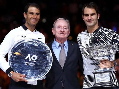 18 veces Roger Federer
