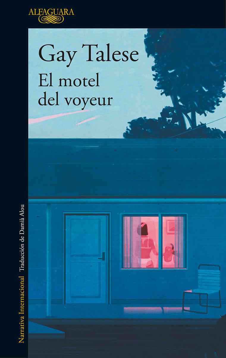 """Portada del libro """"El motel del voyeur"""""""