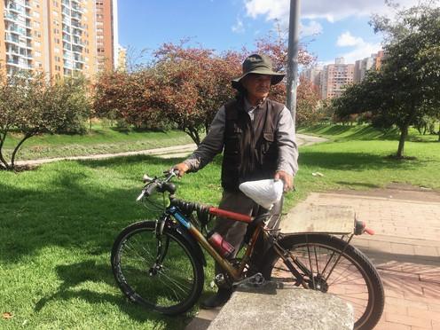 La bicicleta, el elixir de la juventud de Alirio Fuentes