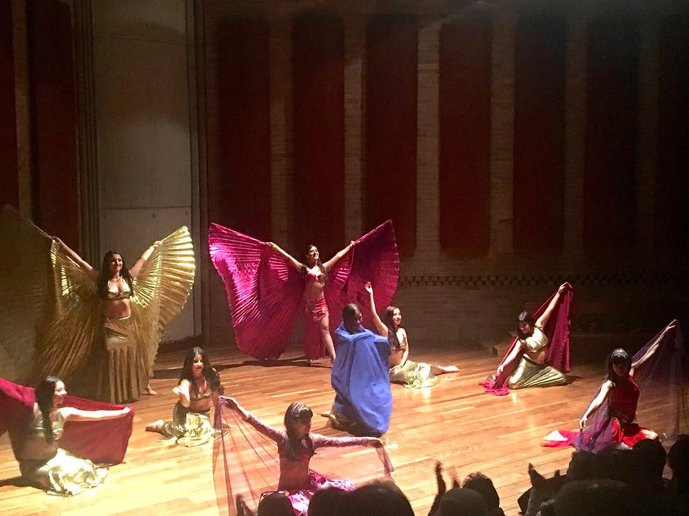 Grupo de danza árabe