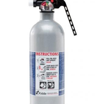 Kidde Fire Extinguishers Recall
