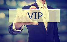 image telling people to become a VIP member at the aesthetics club to receive exclusive discounts and offers