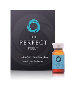 The perfect peel leaflet with vial.