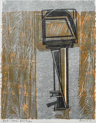 Maria Bonomi gravure edition de tete xylographie