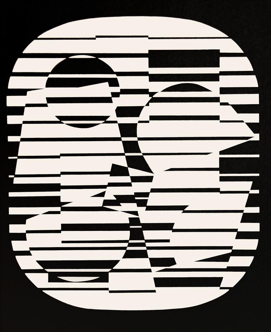 Zeta, Album Linéaires, Vasarely
