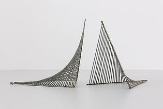 Maquette DS05, fer galavanisé, 16 x 28 x