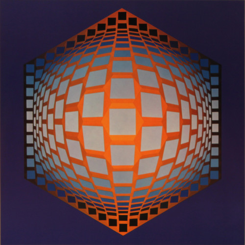 Tegla hat, Album Hexagone, Vasarely