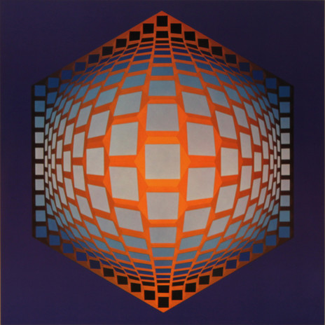 Tegla hat, Album Hexagone, Vasarely