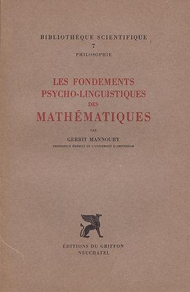 LES FONDEMENTS PSYCHO-LINGUISTIQUES DES MATHEMATIQUES