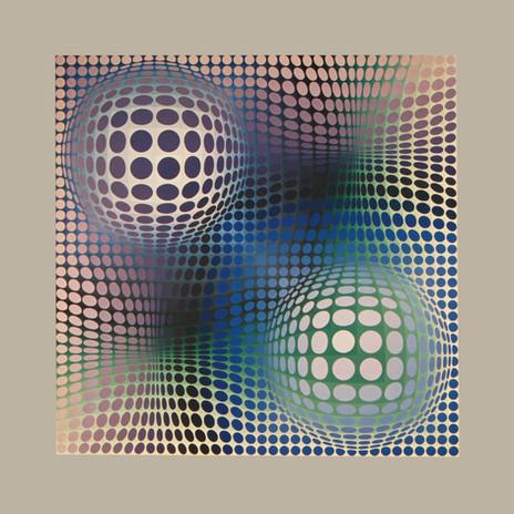 Feny, Album Damier, Vasarely