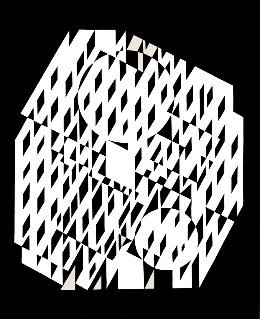 Nethe, Album Croisées, Vasarely