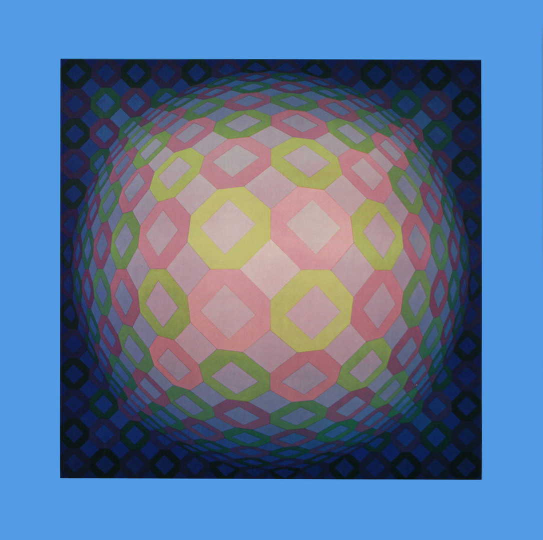 Okta pos, Album Octogone, Vasarely