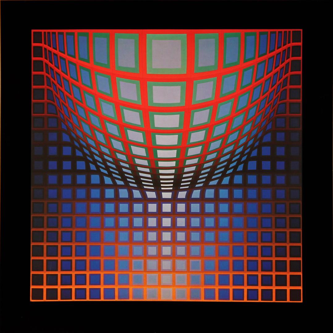 Kezdi vega, Album Damier, Vasarely