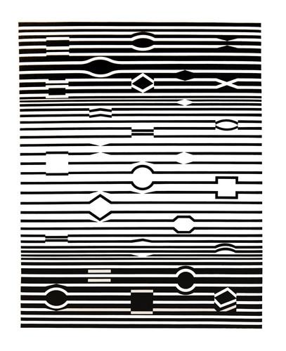Markab, Album Ondulatoires, Vasarely
