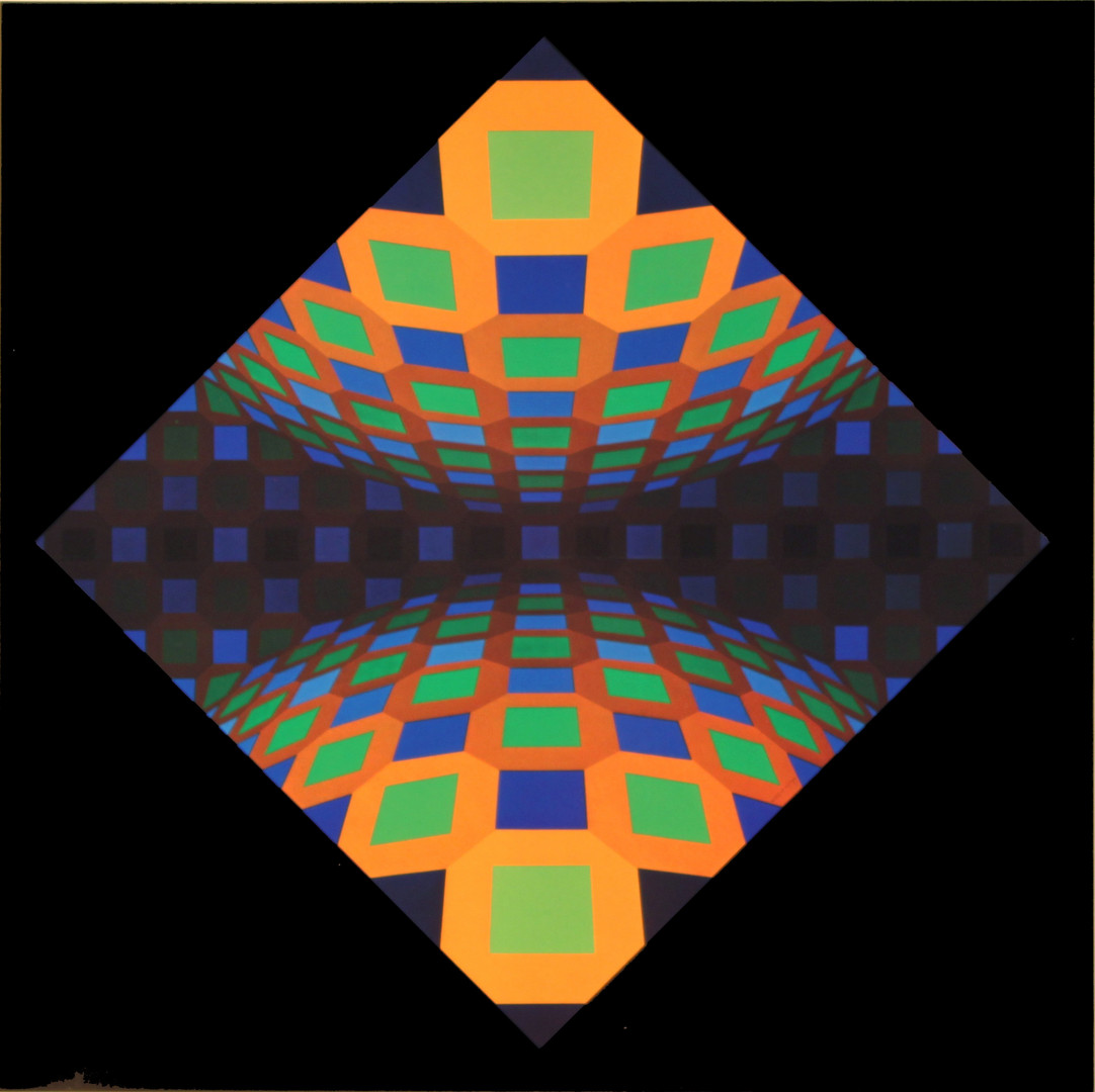 Pkta pos, Album Octogone, Vasarely