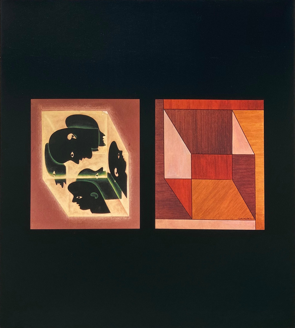 Album Graphismes 3, Victor Vasarely