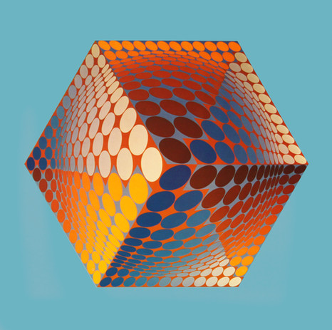 Tupa, Album Hexagone, Vasarely