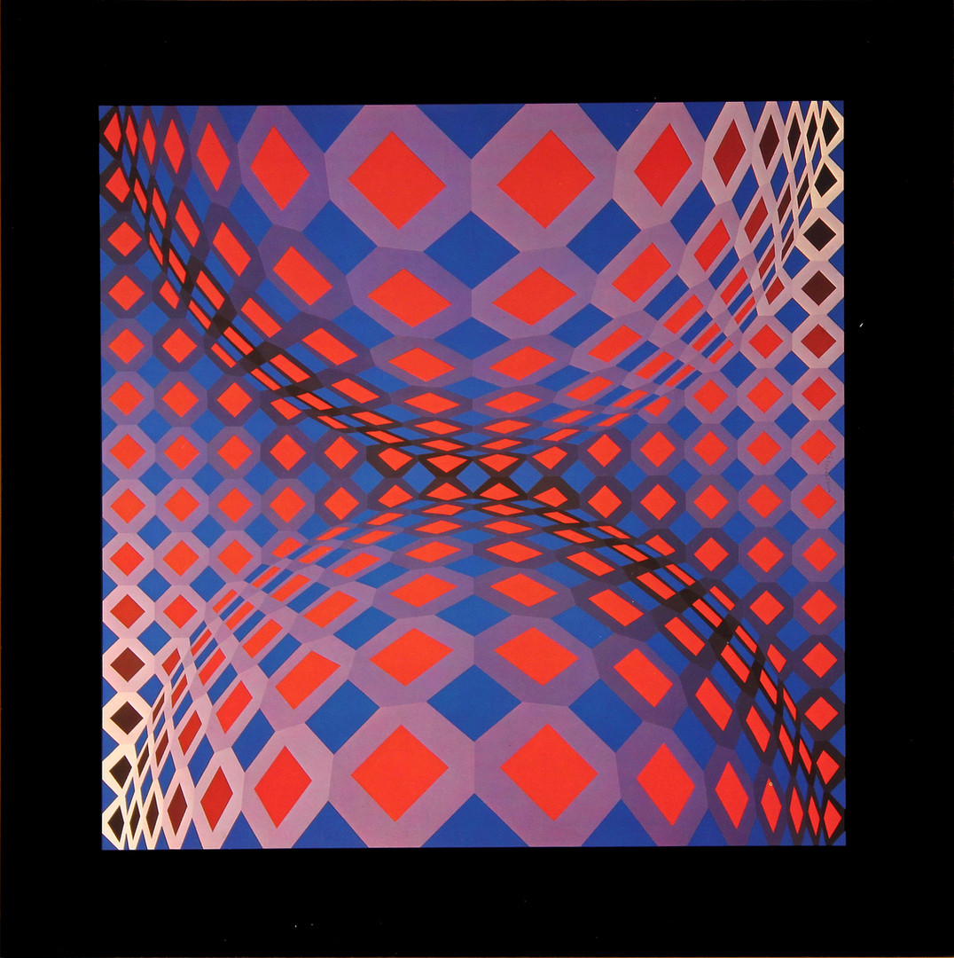 Ondocto X, Album Octogone, Vasarely