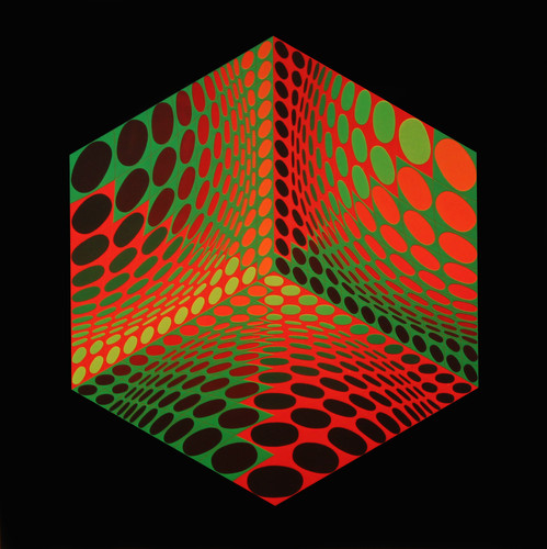 Tupa, Album Hexagone, Vasarely