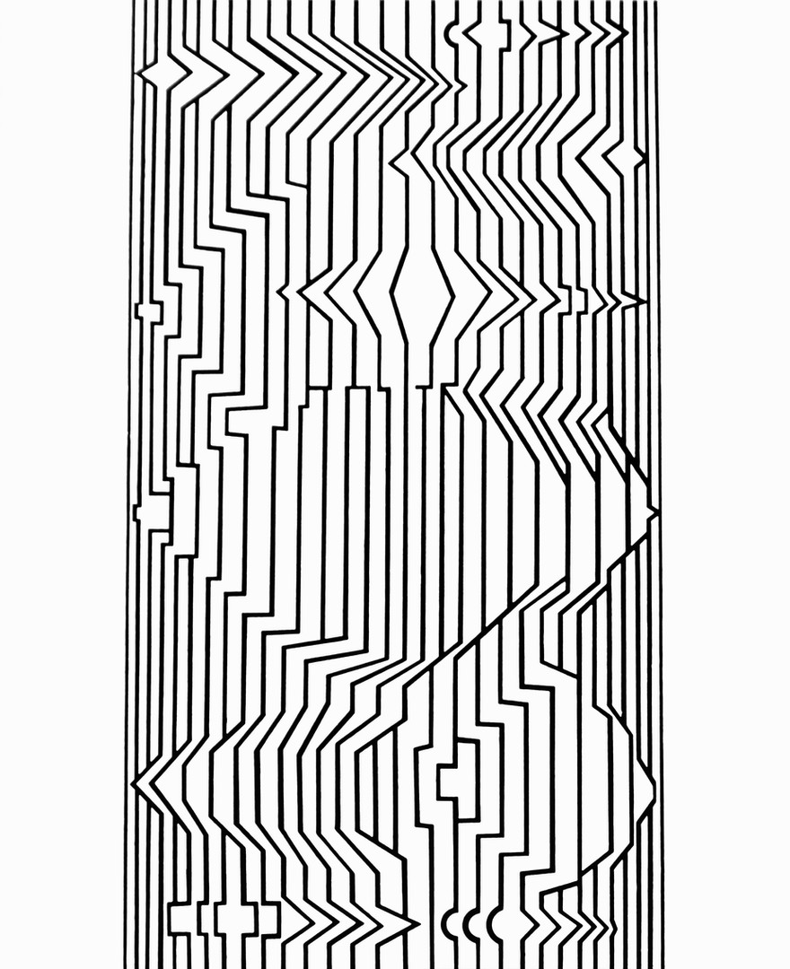 Naissances III, Album Ondulatoires, Vasarely