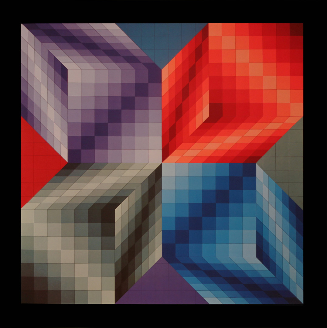 Album Progressions 3, Victor Vasarely