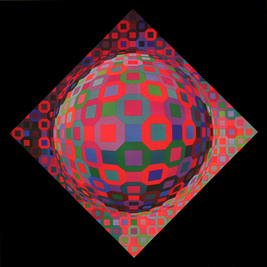 Planetary, Album Octogone, Vasarely