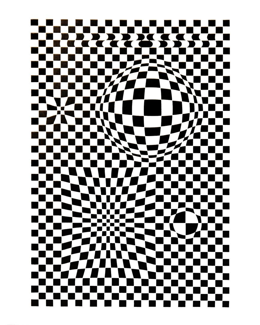 Vega, Album Corpusculaires, Vasarely